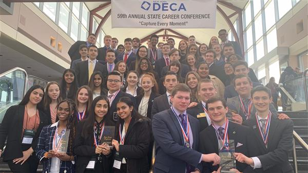 SHS Deca State Competition Winners